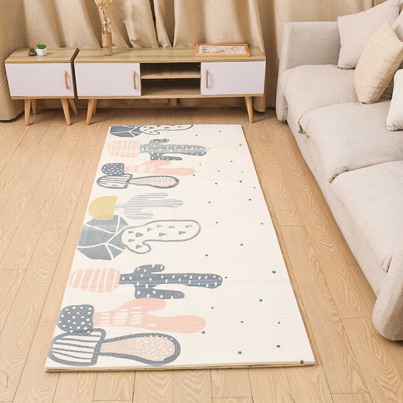 XPE alfombra de juego para bebé alfombra de gateo de doble superficie alfombra de bebé alfombra de desarrollo para niños almohadilla de juego decoración de habitación para niños