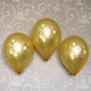 Boys girls baptism confirmation religious party decoration balloon gold silver latex balloons with dove cross 12 ct(China)