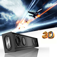 20W 4500 mAh Sound Bar Hifi speaker Wireless Subwoofer Portable Column Bluetooth Speaker with FM Radio TF AUX for TV Computer