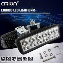 CIRION 4 дюйма 60 Вт боковой светящийся светодиодный рабочий светильник для вождения автомобиля внедорожный светильник бар комбо для 4x4 грузовиков внедорожных транспортных средств Led Bar