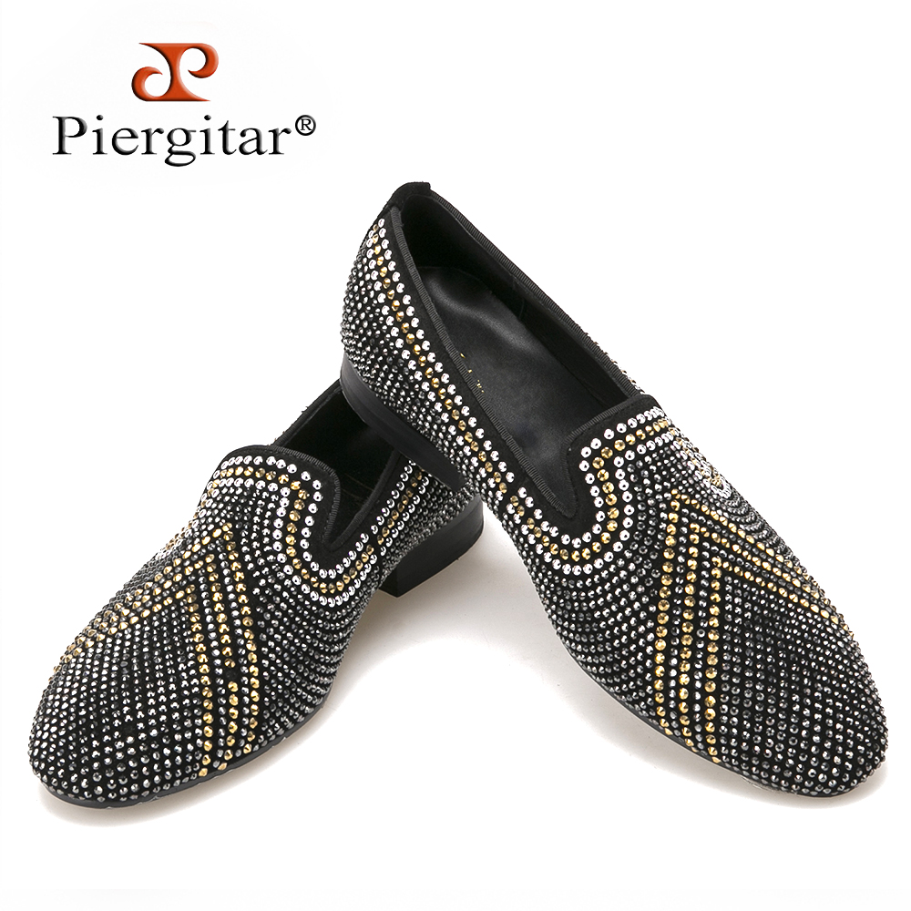New Handmade three color rhinestone mixed men suede loafers Luxury brands same style party and wedding men shoes men's flats 2016 new style handmade white color print gold flower china style men loafers wedding and party men shoes fashion men s flats