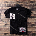 XXL-8XL Plus Size Hiphop t shirt homens Gasp Algodão t-shirt de Fitness (XXL XXXL 4XL 5XL 6XL 7XL 8XL)