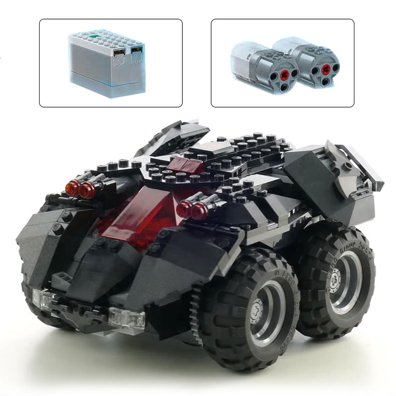 Dc Super Heroes Batman Remote Control App-Controlled Batmobile Building Block 360pcs Brick Toys Compatible With Legoings 76112 1 18 scale 1995 batman forever batmobile by hot wheels page 5