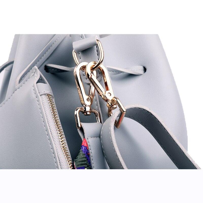 1 À Sacs Messenger Seau 2 3 4 Designer Femmes Sac Pu Cuir Coloré Dames Avec Marque Bandoulière Bracelet 5 8wHZ4q