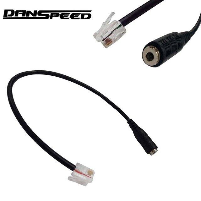 Danspeed Premium 3 5mm Female To 4p4c Rj9 Male Plug