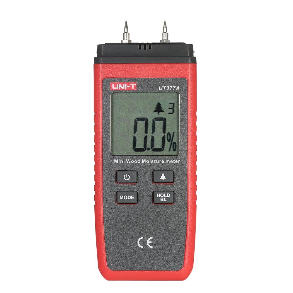 Werkzeuge Analysatoren Erfinderisch Uni-t Ut377a Professionelle Feuchtigkeit Meter Holz Mini Hand-gehalten Lcd Holz Feuchtigkeit Meter Tester Holz Damp Detector 2 Pins Tester
