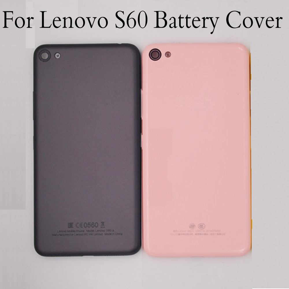 Housing for Lenovo S60 Battery Back Cover Mobile Phone Replacement Parts Case for lenovo s60 s 60 Without lenses and side keys