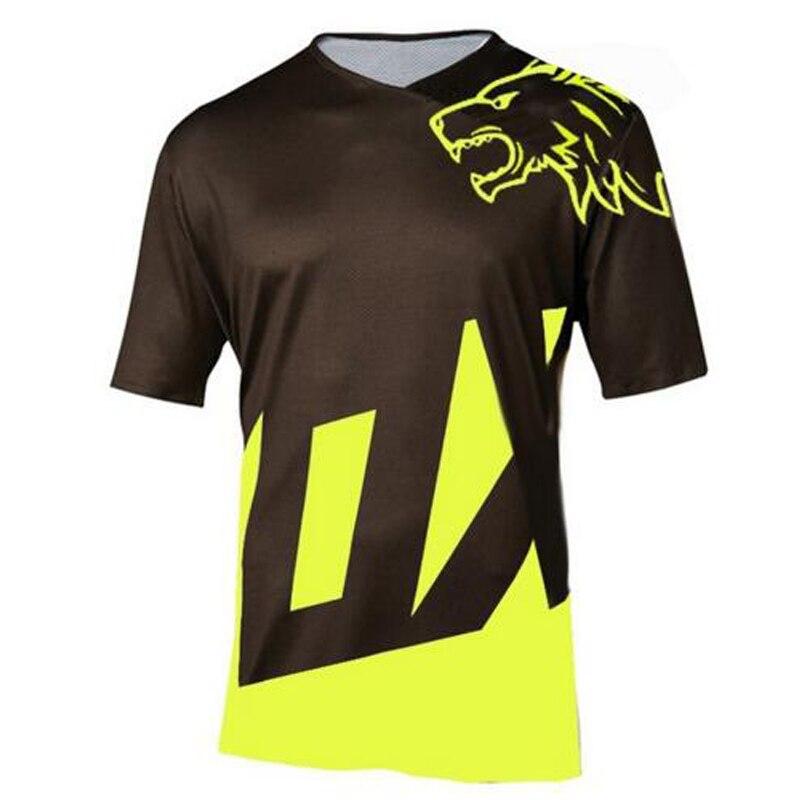 Motocross Jersey Clothing Cycling-Shirt Short-Sleeve Mountain-Bike DH New