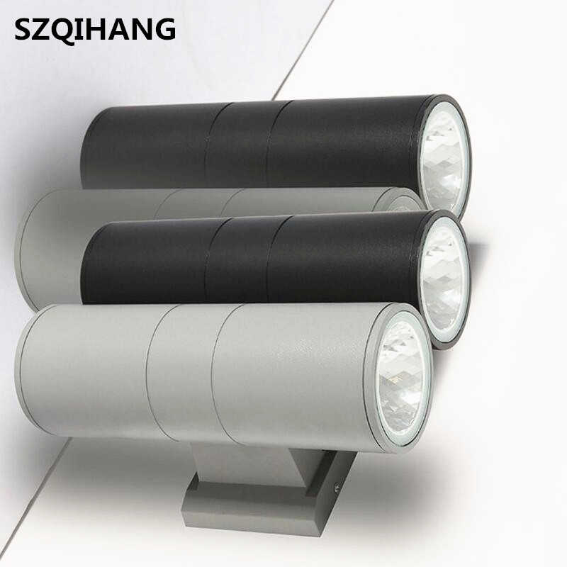 COB double Indirect Wall Lamp 2*5W 2*10W 2*15W 2*20W LED Sconce Surface Contemporary Light outdoor Lighting