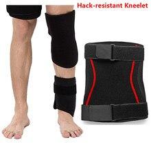 Novo fbi stealth anti-facada anti-corte joelheiras anti-colisão macio tático auto-defesa engrenagem de proteção hack-resistente kneelet