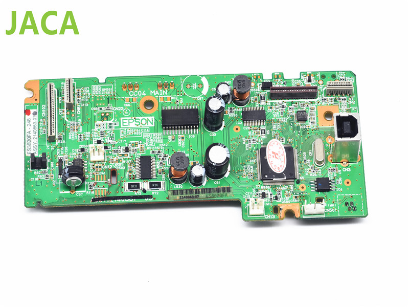 Mainboard Mother Board Original Formatter Board logic Main Board MainBoard for Epson L220 printer L100 L210 L565 L300 L455 L555 original cc03main mainboard main board for epson l455 l550 l551 l555 l558 wf 2520 wf 2530 printer formatter board