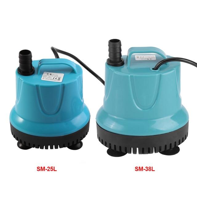 US $18 92 44% OFF|2 Types Aquarium Water Pump Plastic 2000L/H Fish Tank  Water Submersible Pump Blue Pump With EU Plug-in Pumps from Home  Improvement
