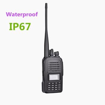 JJCC F2000 Walkie-Talkie IP67 Waterproof Anti-dust 136-174Mhz 400-520Mhz Dual Band Walkie-Talkie