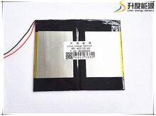 Free shipping 7.4V 6.6 Ah 8000 mah large-capacity ultra-thin MID tablet battery (thick) 4 * (wide) 140 * 110 mm (long)