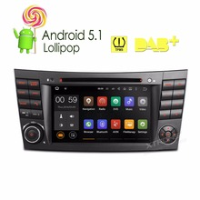 7″Android 5.1 Lollipop 64 Bit Quad Core Car DVD Player withTPMS/OBD2 for Mercedes-Benz G-W463 2001-2008 & E-W211 2002-2008