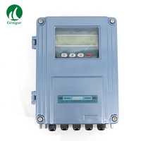 TDS 100F S2 Fixo Portátil Medidor de Fluxo de medidor de Vazão Ultrassônico DN15 100mm TDS 100F Wall Mount|Medidores de vazão| |  -