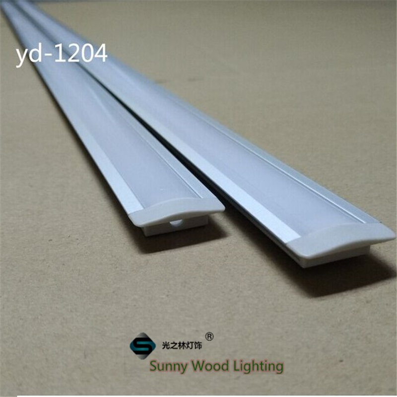 10set/lot 2meters Length Aluminium Profile For Led Strip, Embedded Aluminium Housing. 12mm PCB Board ,underground Tape Channel