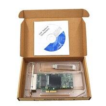 Новый Intel I350-T4 PCI-Express PCI-E четыре RJ45 Gigabit Порты серверный адаптер NIC