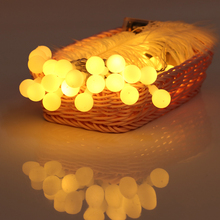2019 LED fairy Lights Christmas lights outdoor wedding decoration Party Cheap Ornament Ball String Light