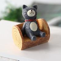 Zakka Small Ornaments Mini Stump Home Creative Handicrafts Props Children's Toys Home Decor Birthday Present