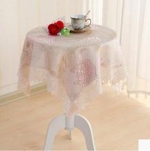 Paño de tabla cuadrado mantel pequeña mesa redonda de tela rectangular sala de jardín