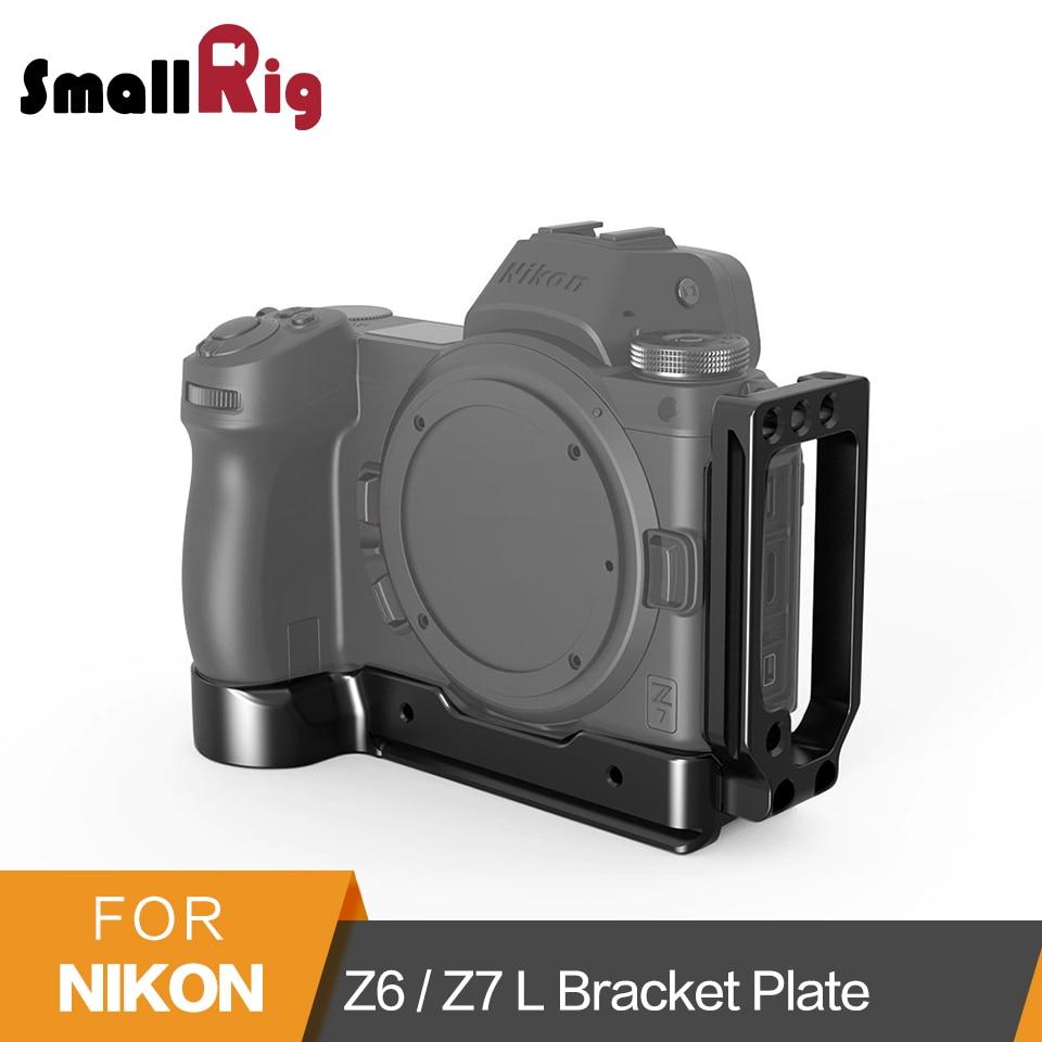 SmallRig L Bracket Plate for Nikon Z6 Z7 Camera Arca Swiss Standard L Plate Mounting Side
