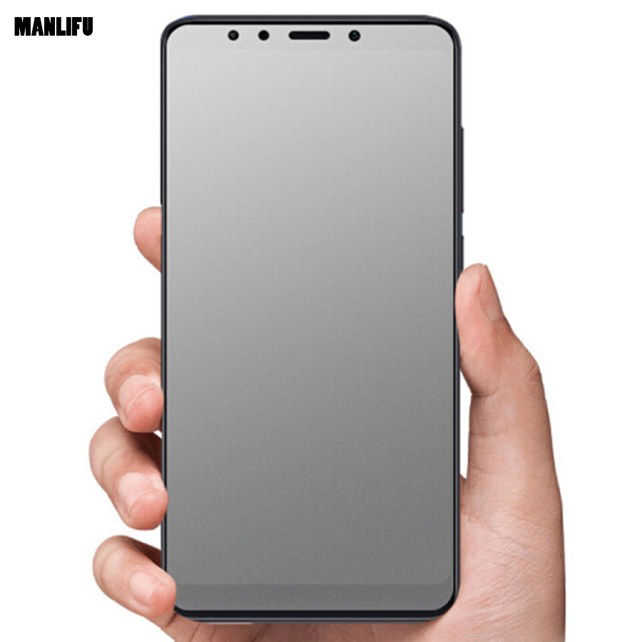 Matte Frosted Tempered <font><b>Glass</b></font> for <font><b>Xiaomi</b></font> Mi Pocophone F1 Redmi S2 <font><b>A1</b></font> 6X A2 Lite Plus Note 5 6 Pro 8 SE Mix 2s <font><b>Screen</b></font> <font><b>Protector</b></font> image