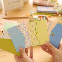 1pack/lot Fresh garden Novelty Envelope Message Mini Card Letter Stationary Storage Paper Gift office and school