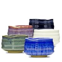 650ml Japan Coarse Pottery Matcha Bowl Green Tea Maker Cup Glaze Teacup Kung Fu Tea Set Master Cup Creative Vintage Home Decor
