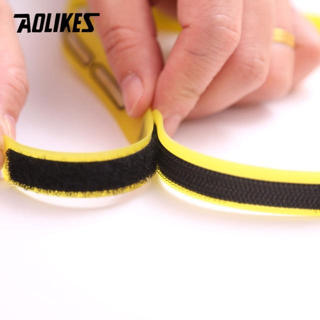 AOLIKES 1PCS Outdoor Sports Silicone Sweat Guiding Belt,Running,Ridding GYM Sweat Conductivity Headbands,Yoga Hair Sweatband 3