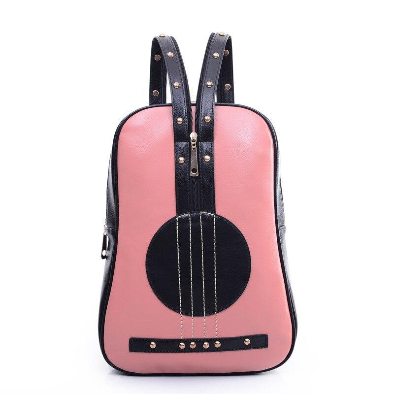 Рюкзаки в виде гитар детские пластиковые чемоданы с колесами