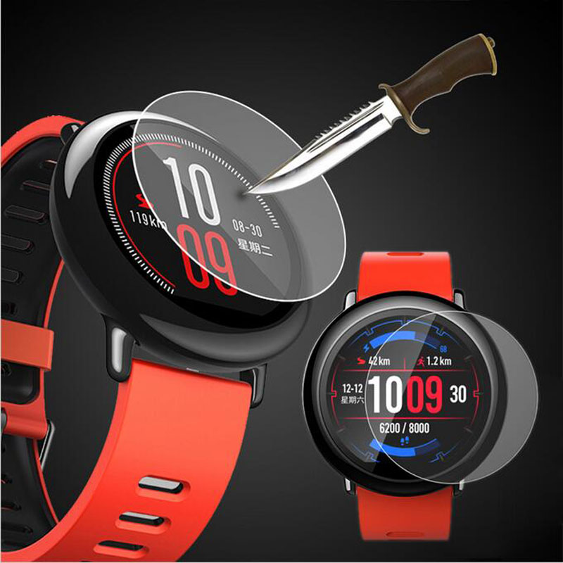 01b16708b20 Para Xiaomi Huami Amazfit Pace Esportes Smartwatch Película Protetora de  Vidro Temperado Protetor de Tela pelicula relogio inteligente relogio smart  relogio ...