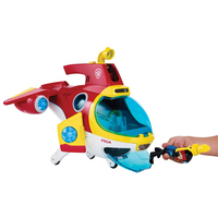 Paw Patrol Dog toy Submarine Ryder Sea Rescue Sub Patroller Music Sound Light Base Action Figure Model Toys for children Gifts