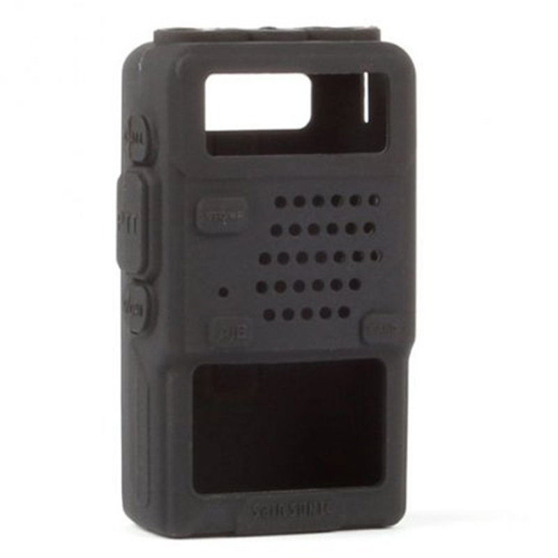 Walkie Talkie Silicone Holster Cover For BAOFENG UV 5R Portable Ham Radio UV-5R UV-5RA Plus UV-5RE Plus UV-5RB