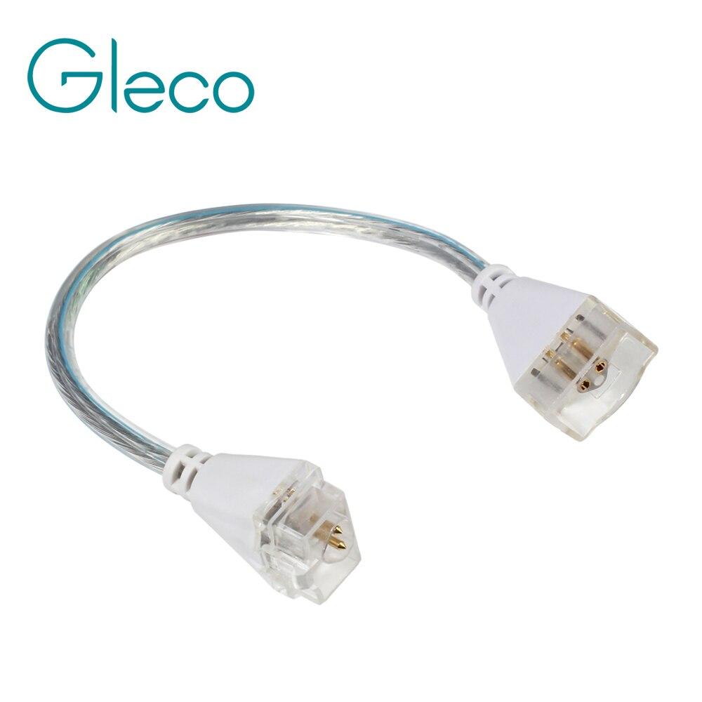 Бесшовные подключения светодиодный свет бар Угловой Соединитель 14 см кабель женский мужской на обоих концах разъем