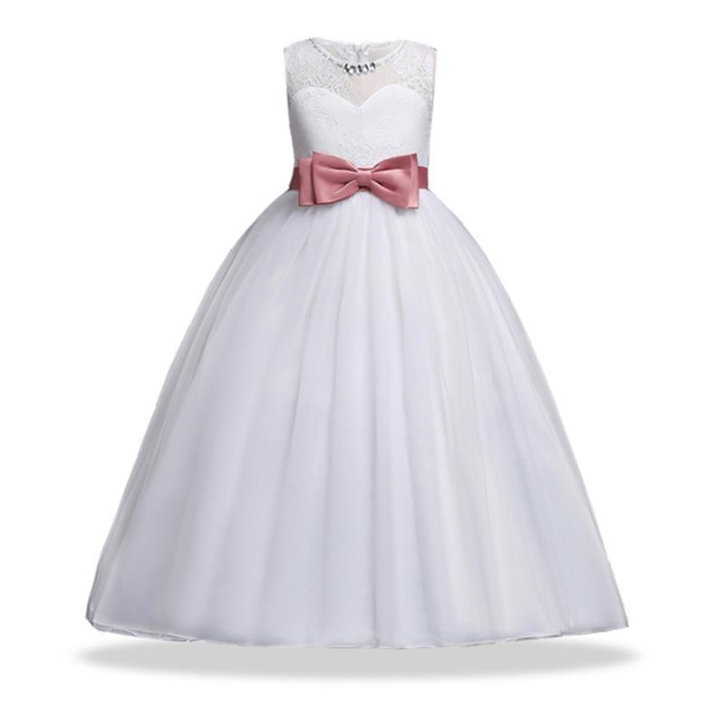 F54437fb49 Vestido Elegante Para Niñas De 10 A 12 Años