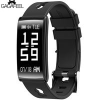 GAGAFEEL Smart Watch Men Clock For IPhone IOS Android Blood Pressure Detection Clock Alarm For Men