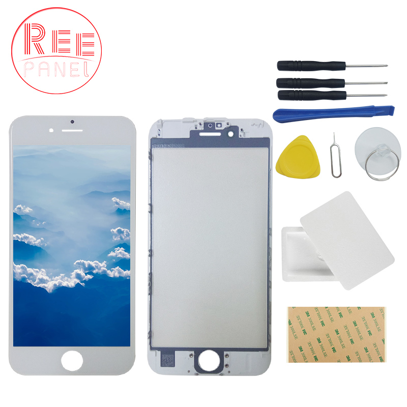 Reepanel Touch Panel For iPhone 6 6s 5 5sTouch Screen Digitizer Glass Lens Sensor Replacement Parts for Iphone Touchfreeshipping