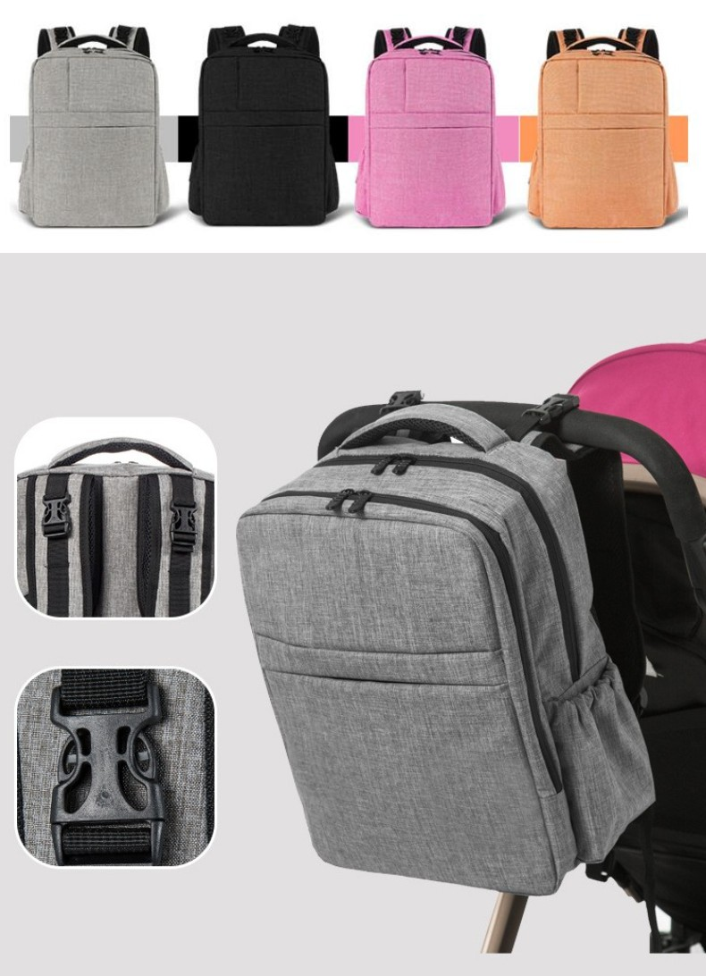 2018 Fashion Backpack Baby Stroller Bag Large Mummy Maternity Bags Baby Diapers Nappy Bag Daddy Backpack idore baby diapers l 60pcs disposable nappies ultra thin large absorb capacity breathable 6dtex non woven fabric infant nappy