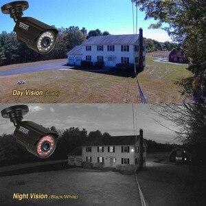 Image 5 - 4 パック CCTV カメラアナログ 960 H 1000TVL CMOS ir カット 24 個ナイトビジョン屋外 CCTV 弾丸カメラ防水セキュリティカメラ