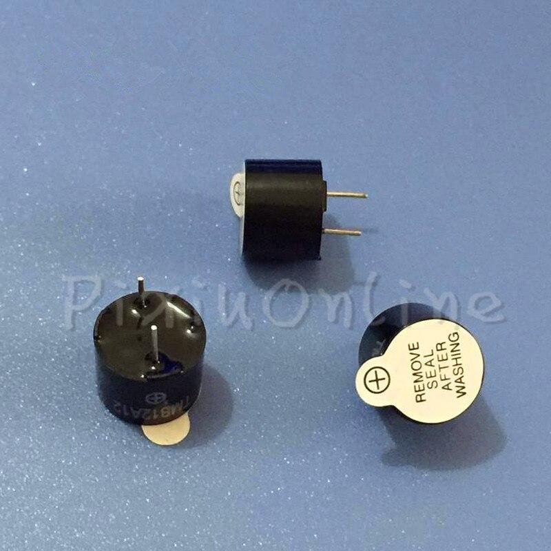 10PCS ST116b 12V Active Electromagnetic Buzzer 12*9.5mm Industrial Grade TMB12A12 Long Continous Beep Tone DIY Tools