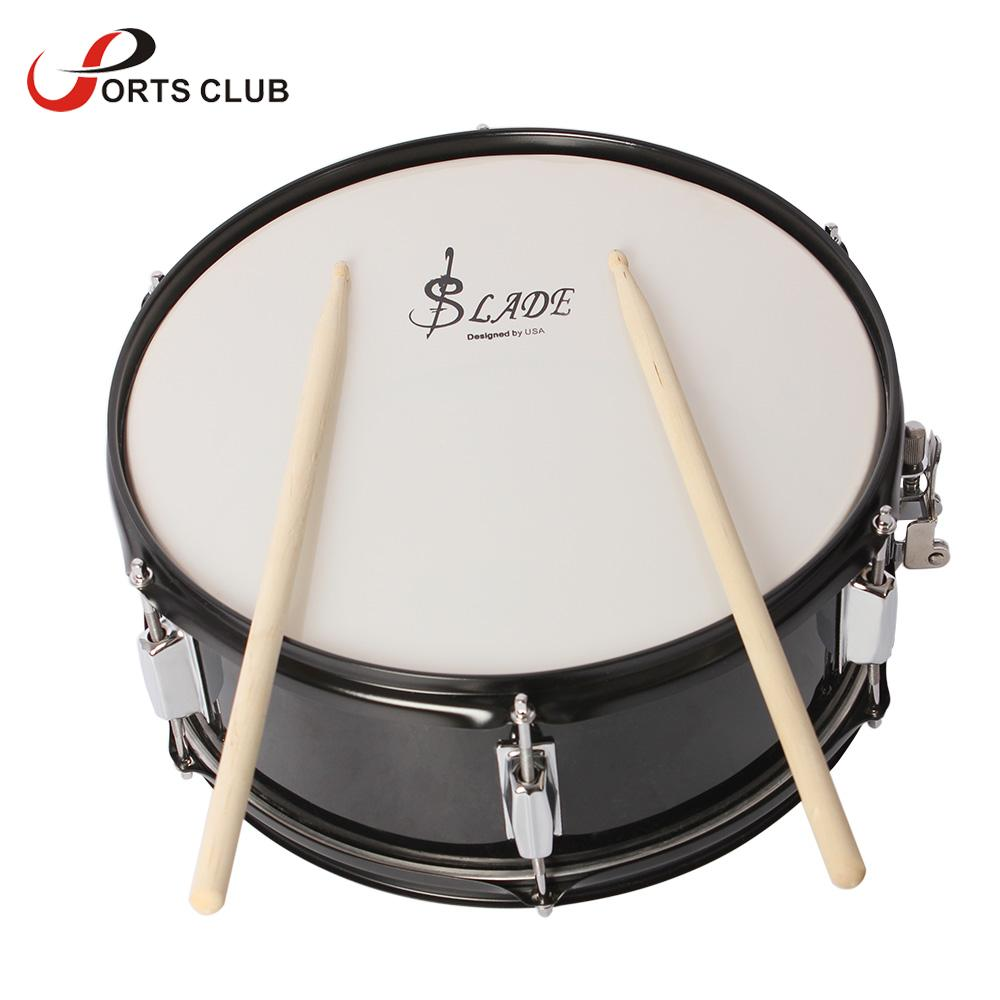professional snare drum head 14 inch with drumstick drum key strap for student band in drum from. Black Bedroom Furniture Sets. Home Design Ideas