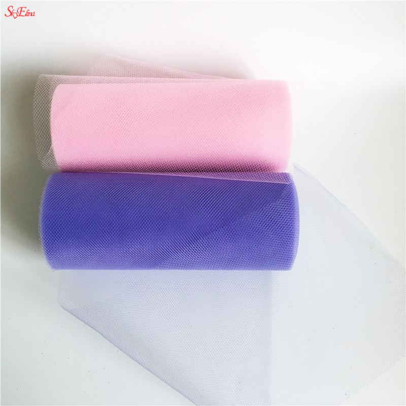 Initiative 22mx15cm Tulle Mesh Organza Wedding Decor Sheer Diy Tutu Tulle Roll Baby Shower Table Decoration Party Decoration Fabric 7z Arts,crafts & Sewing