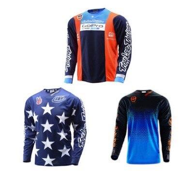 New  sky TROY LEE  SRAM 661 GP Custom-made T-shirts for motorcycle racing cars tld bmc