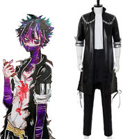 My Boku No Hero Academia Dabi Uniform Jacket Set Costume Outfit Villains Cosplay Drop