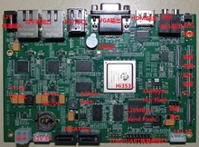 HI3531 development board NVR board 4x1080P decoding board super large memory dual Gigabit Ethernet card with Nand friendly open source development board nanopi m1 plus full h3 gigabit network card wifi bluetooth emmc