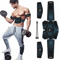 Abdominal Muscle Stimulator EMS Abs Trainer Fitness Training Gear Muscular Electrostimulation Home Gym Workout Equipment Machine