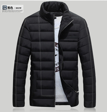 2017 New Fashion Hood Fleece Warm Casual Slim Fit Men Winter Jacket Coat Lovers Parka Outwear