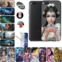 Фотография 3D Patterned Fitted Case For Xaomi Xiomi Xiaomi Mi A1 Mi 5x Mi5x Cover Phone Cases For Xiaomi Mi A1 Mi 5x Hard Plastic Back Case