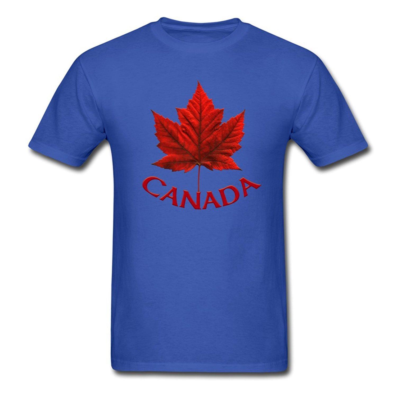 Design t shirt online canada - Ray Oak Band Printed Tee Shirt Design Personalized Shirts Crew Neck Canada Maple Leaf Short Premium